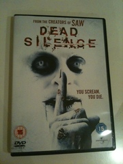 ' Dead Silence ' DVD Horror movie from creators of Saw